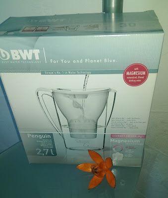 Feyaria´s schwarz bunte Welt: BWT Tischwasserfilter