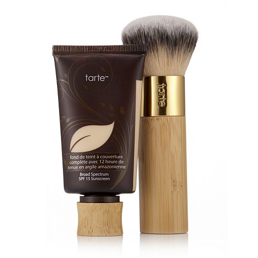 Beauty Blender Or Brush For Full Coverage: Tarte Amazonian Clay Full Coverage Foundation 50ml With