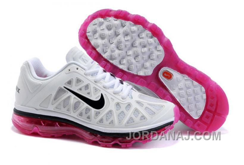 san francisco 9628b 5c13d 431875 102 Women Nike Air Max 2011 White Black Bright Cerise AMFW0205,  Price   85.00 - Air Jordan Shoes, 2016 New Jordan Shoes, Michael Jordan  Shoes