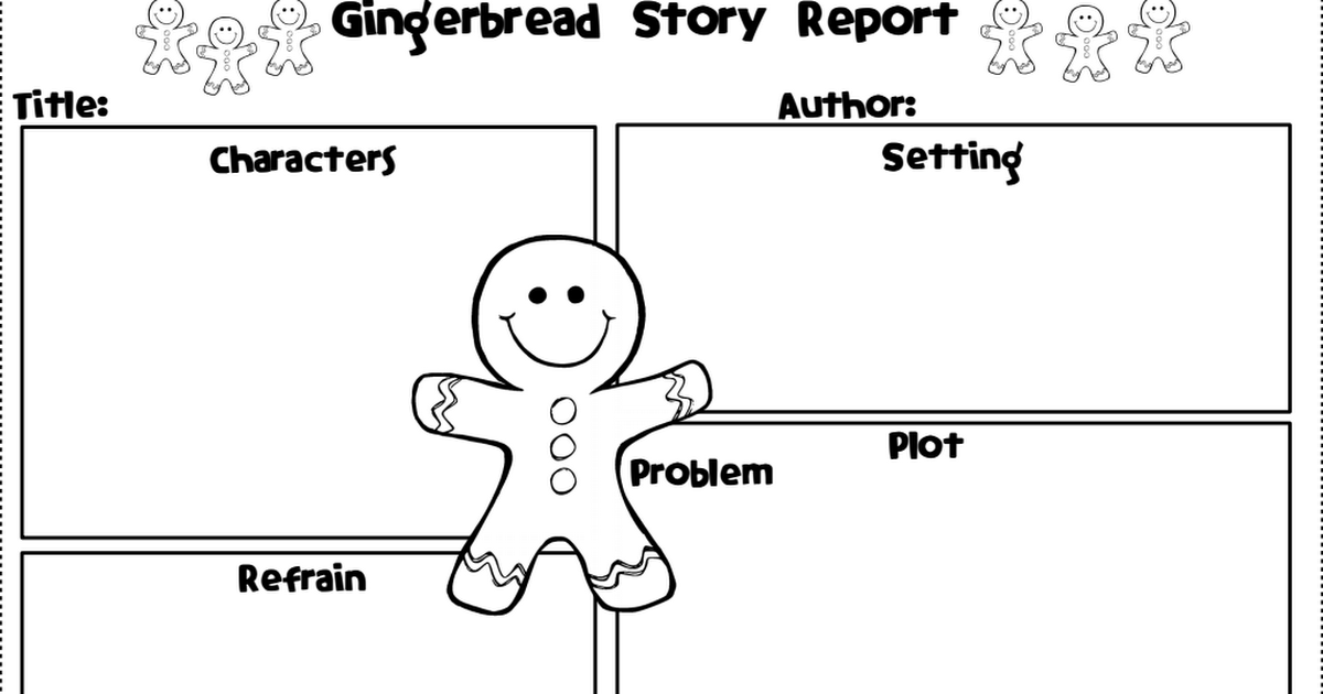 Gingerbread Man Story Report.pdf Gingerbread story