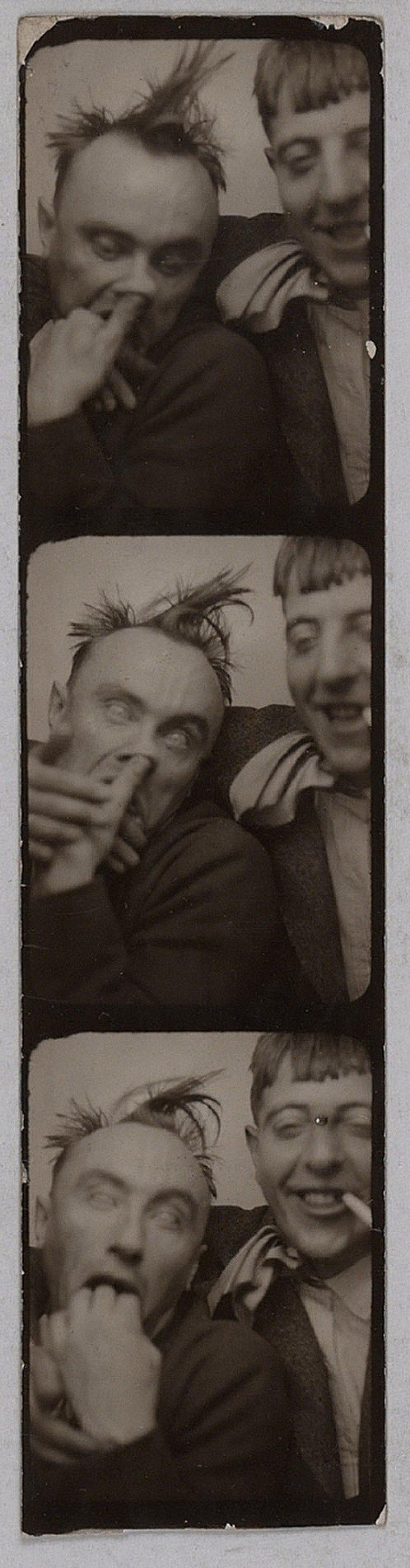 Yves Tanguy et Jacques Prevert