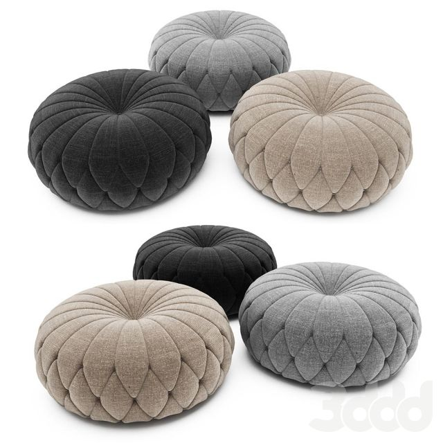 Tufted Round Ottoman | Neutral Colors中性色 | Pinterest | Neumaticos ...