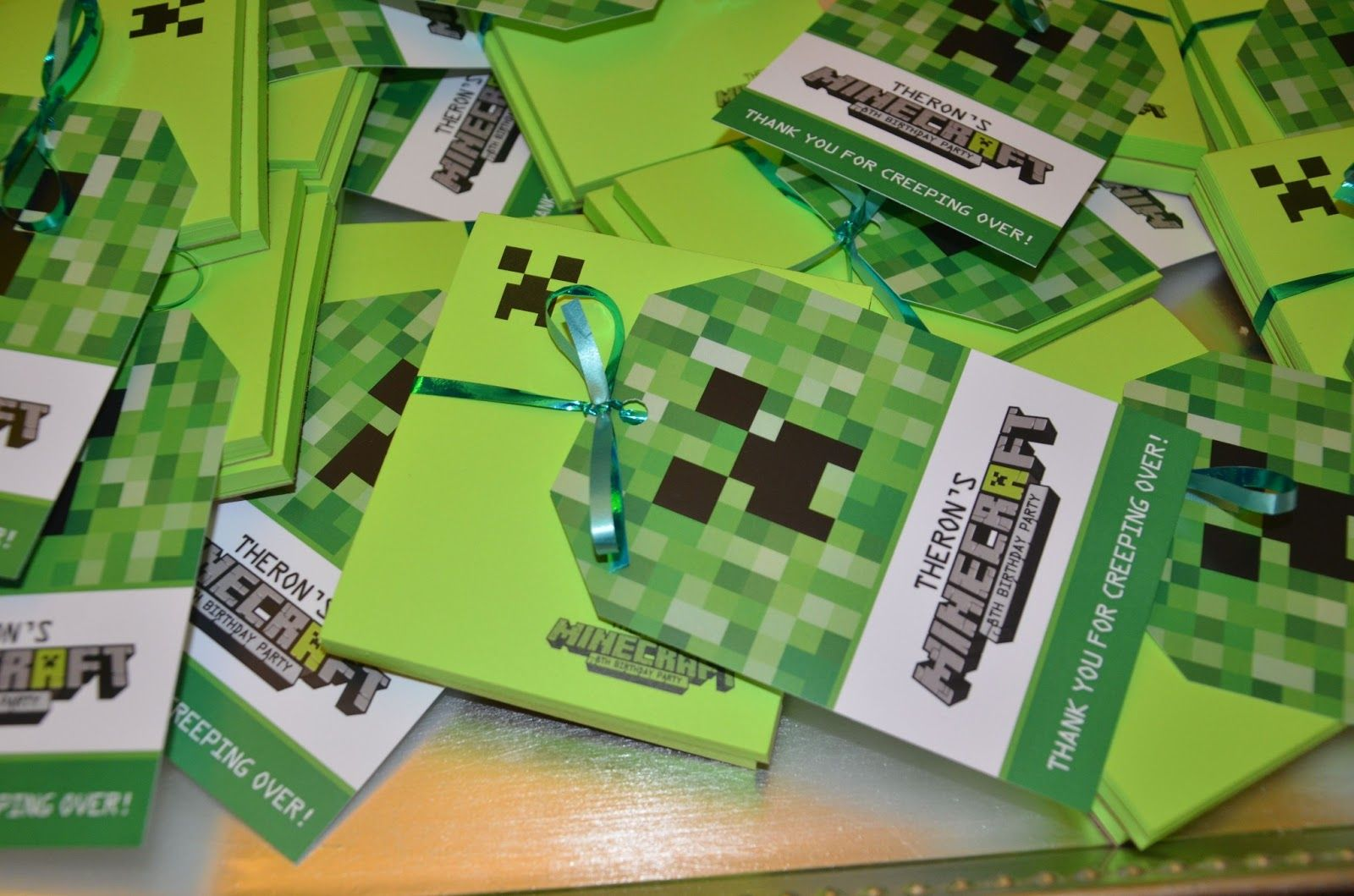 Minecraft Birthday Party Ideas and Invitations Parties for