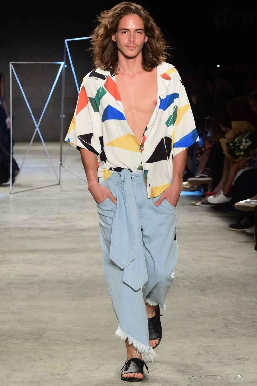 Male Fashion Trends: Iury Costa Runway Show Dragao Fashion