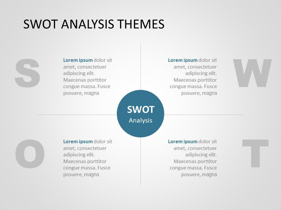 Swot Analysis Powerpoint Template 17 Swot Analysis Swot Analysis Template Powerpoint Design Templates