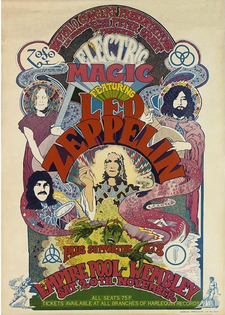 Rock Vintage Posters