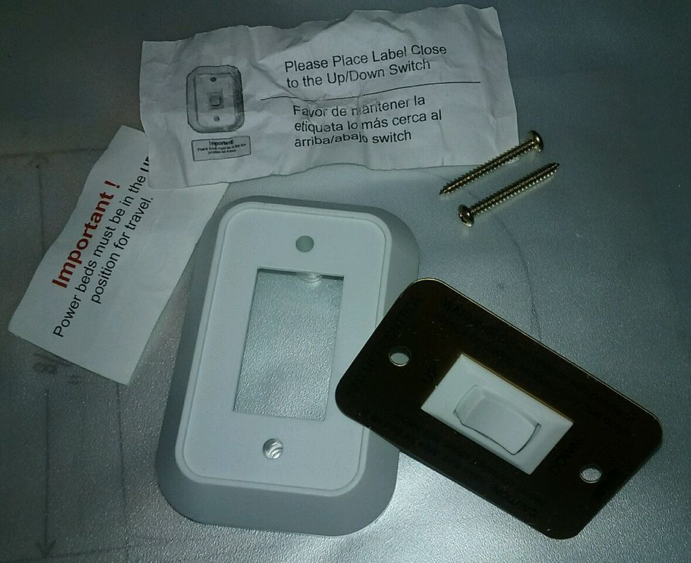 NEW HAPPIJAC UP/DOWN BED LIFT CONTROL SWITCH MOTORHOME