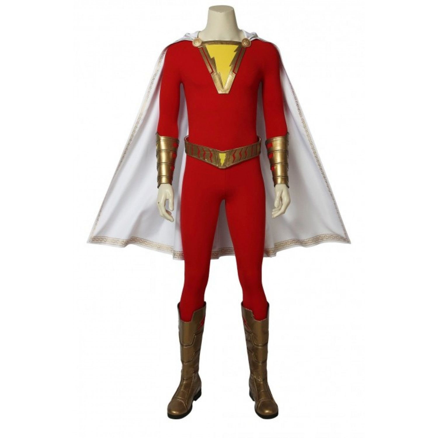 Dc Comics Captain Marvel Shazam Cosplay Costume American Comics Costume Captain Marvel Shazam Captain Marvel Costume Comic Costume And, for captain marvel, he led a team of equally talented artists including jackson sze, ian joyner, anthony francisco, adam ross, tully summers because captain marvel is part of an elite military force, the kree, the design team wanted to create a military space suit that looked like it could endure. pinterest
