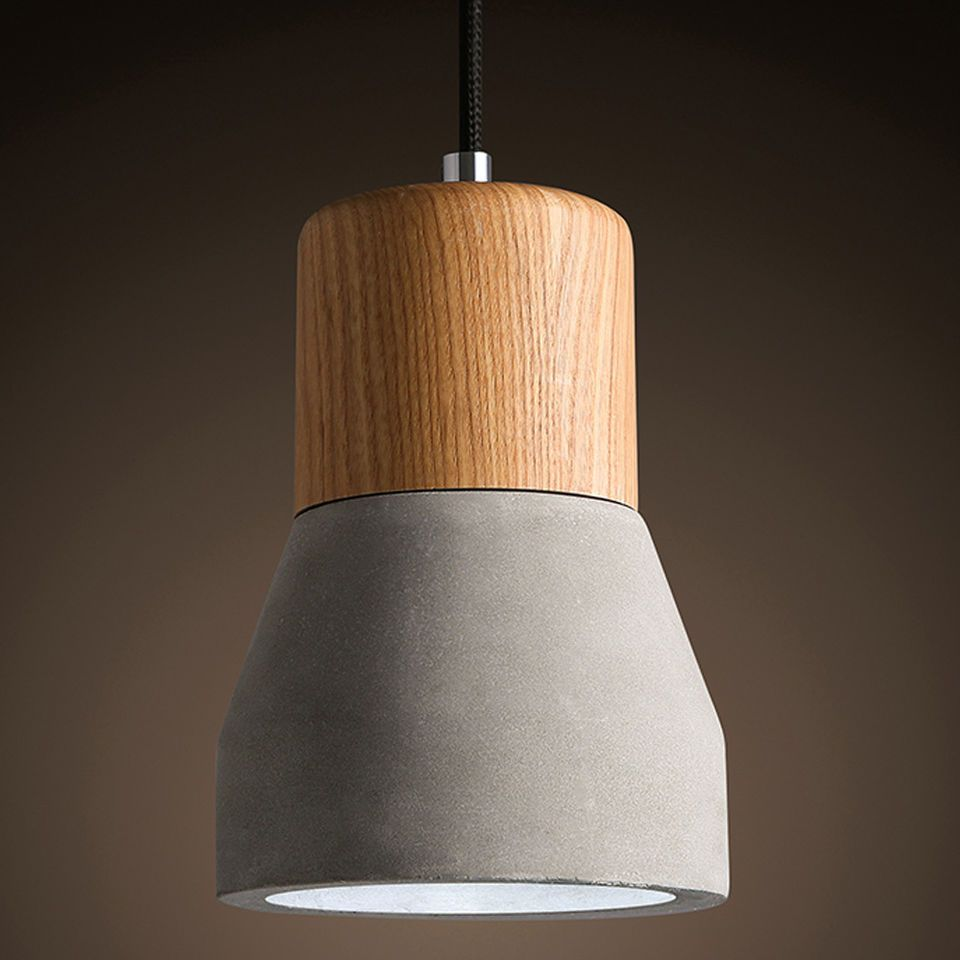 Modern special concrete material ceiling fixtures lamps lights modern special concrete material ceiling fixtures lamps lights pendant lighting arubaitofo Image collections