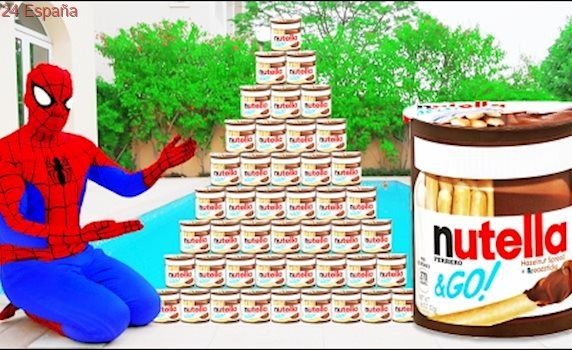 AMAZING NUTELLA CHALLENGE! w/ Spiderman Hulk & Joker Toys Kids Pepsi Funny Movie in Real Life