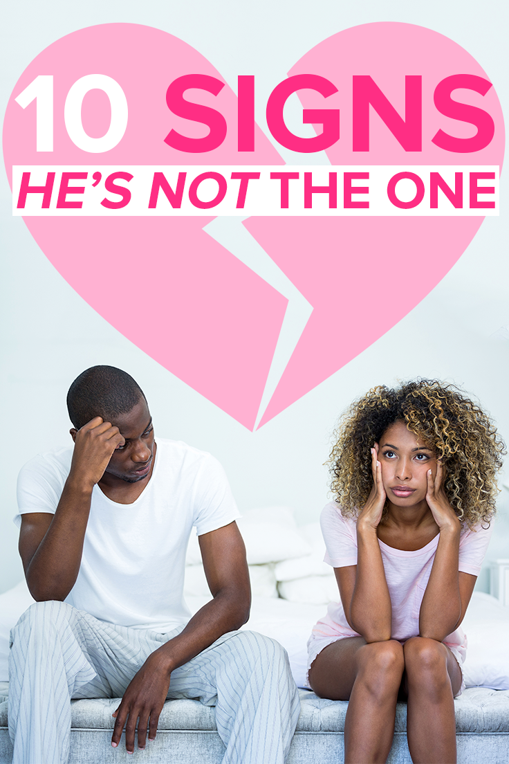 10 signs that he is not serious about you
