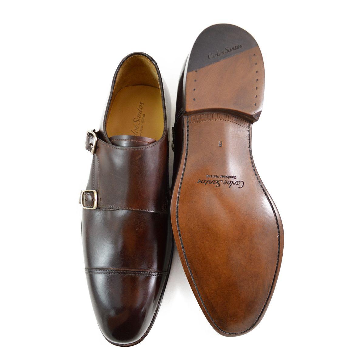 högmode bli billig bästa pris Carlos Santos Double Monk - Guimaraes | Shoes, Goodyear welt, Calf ...