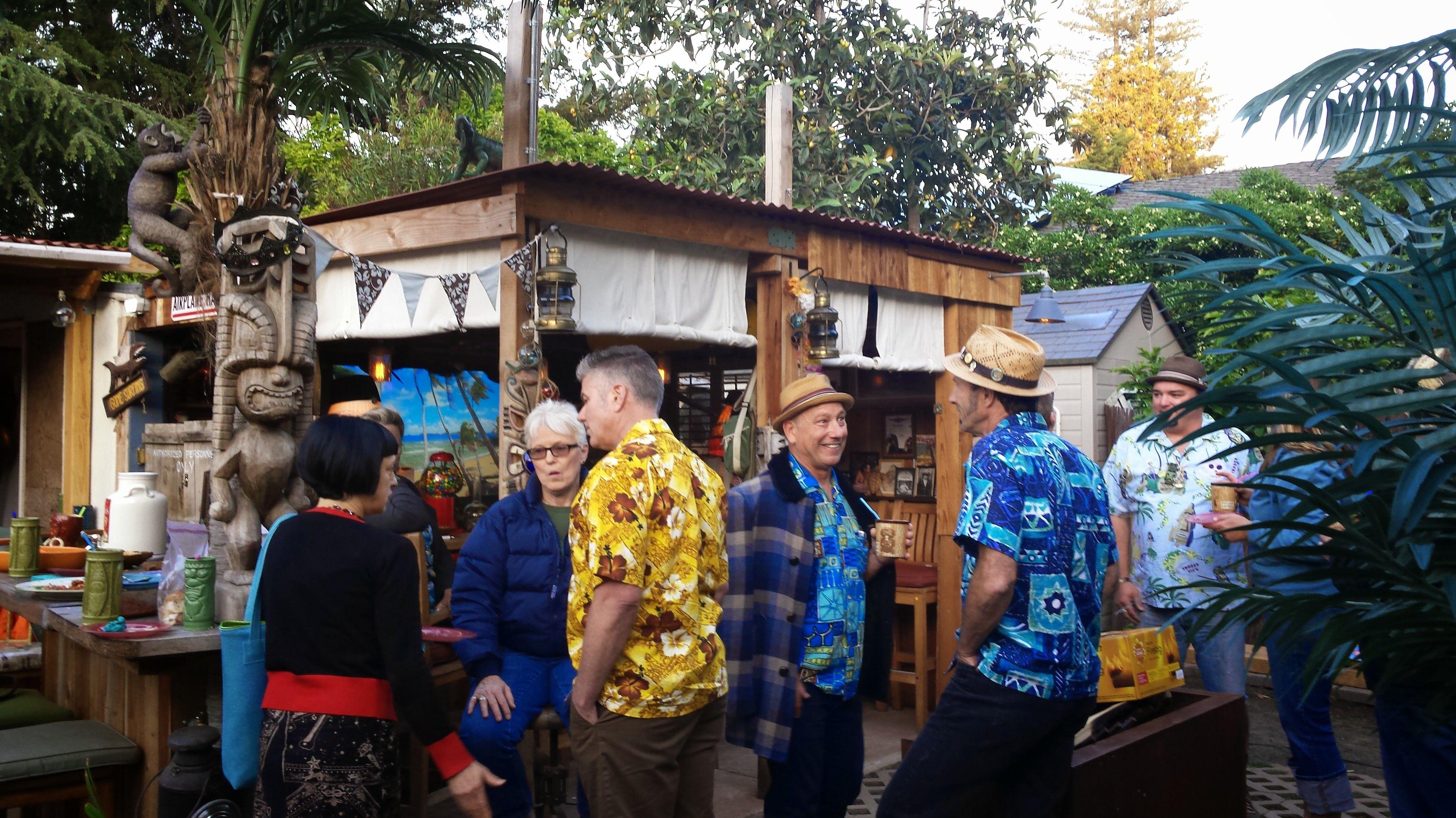 lucky star tiki bar in a menlo park ca backyard tiki travel