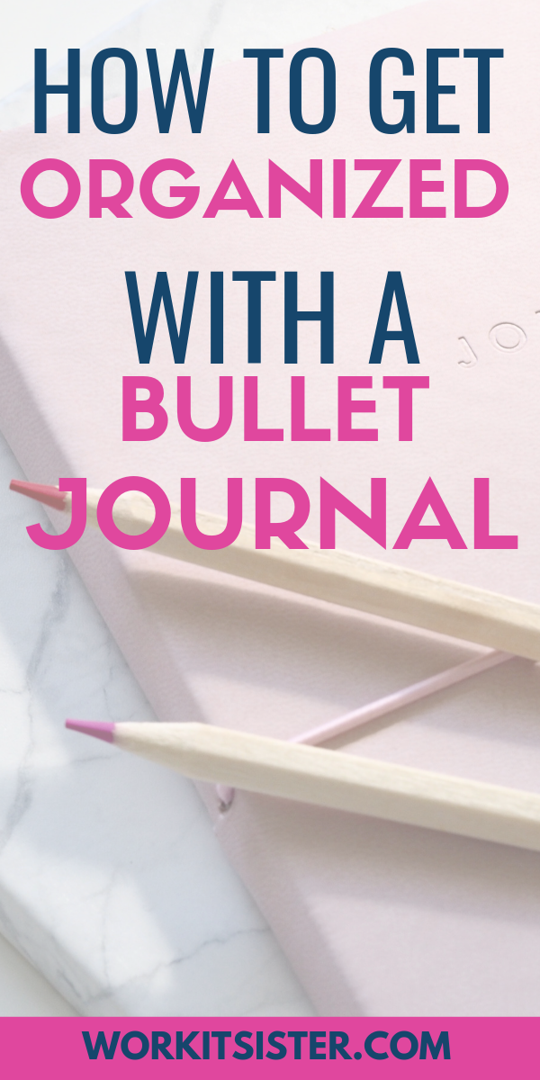 How to Use a Bullet Journal for Superior Organisation!