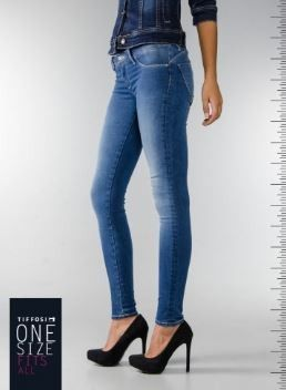 "Tiffosi Jeans One Size ""Os Jeans Que Se Adaptam"