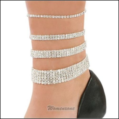 Love This Ankle Bracelet All Of Them Lol