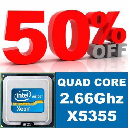 Apple Mac Pro 1.1 Matched Pair Quad Core 2.66GHz X5355 XEON CPU Upgrade KIT