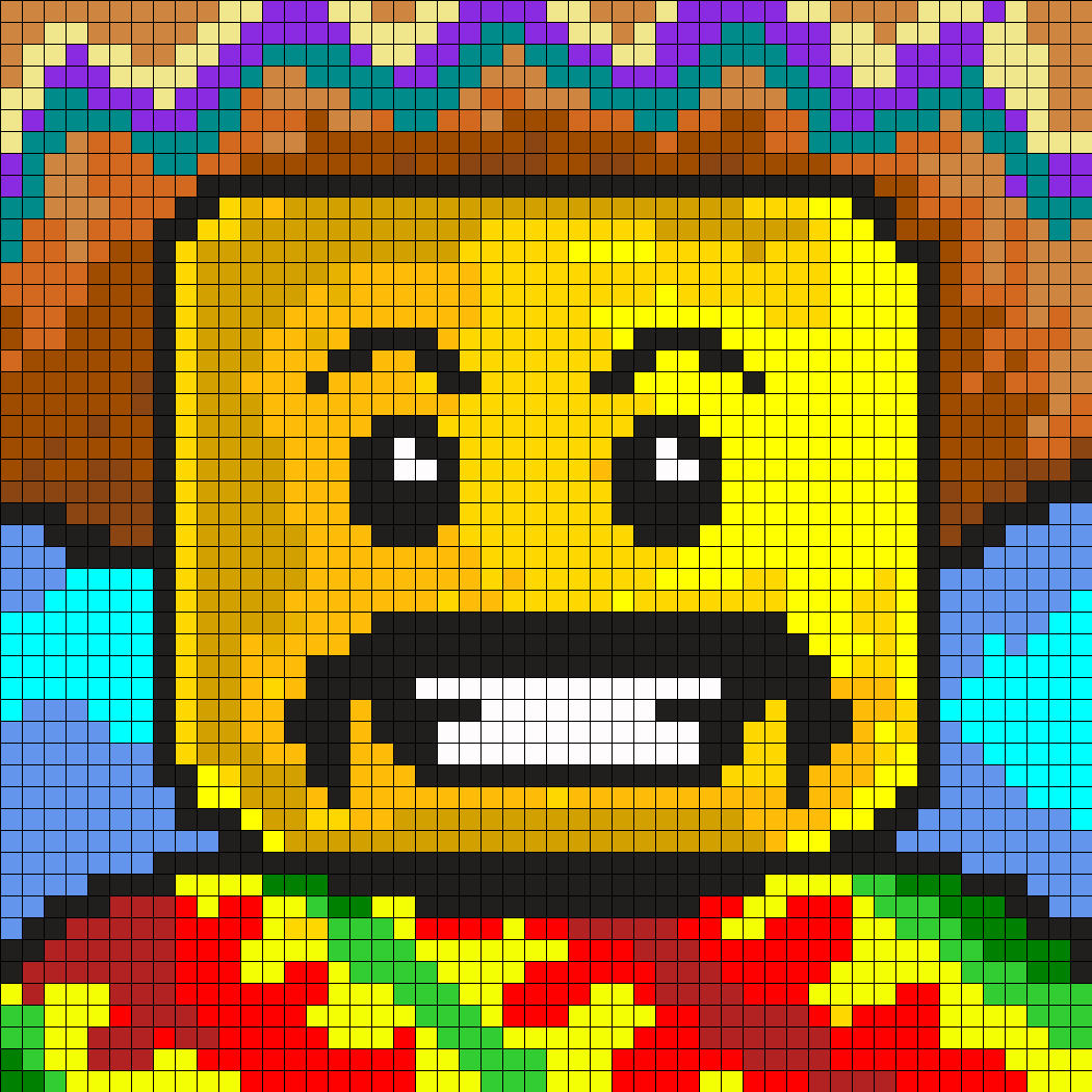 Mexican_lego by Zombiz182 on Kandi Patterns | C2C Graphgan ...