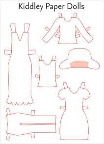 Paper Doll Template   Free Pdf  Doc Download  Paper Dolls