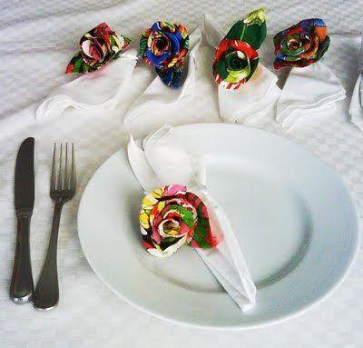 Invista em uma das ideias muito criativas de artesanato com chita (Foto…