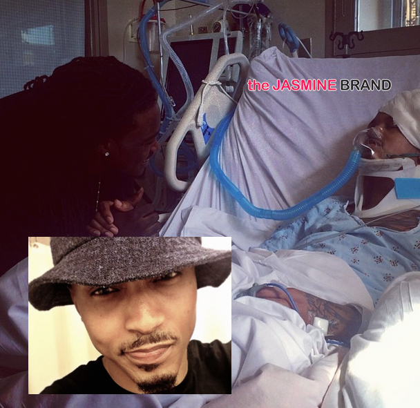 August Alsina Brother Funeral | august alsina-wakes out of coma-after collapsing on stage-the jasmine ...