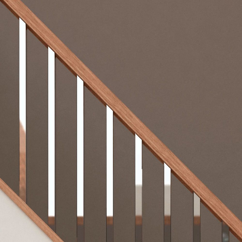 modern handrails for stairs - Google Search