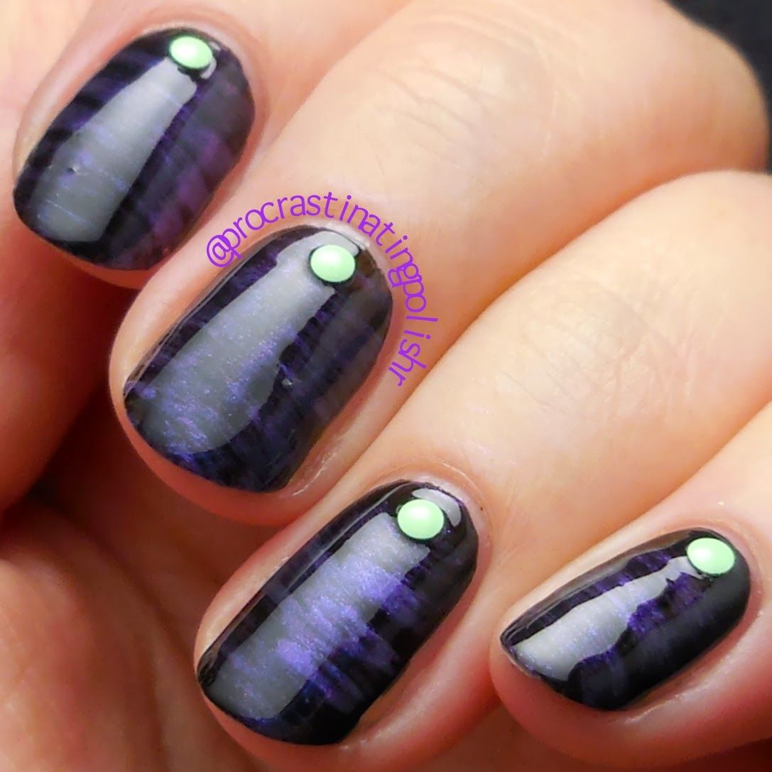 Fan brush nail art with Cult Nails - Charming | Nails | Pinterest ...
