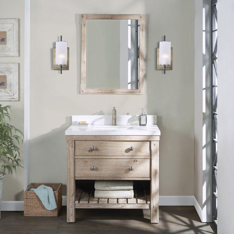 Elbe Vanity Northridge Home Single Sink Vanity Vanity Sink 30 Vanity