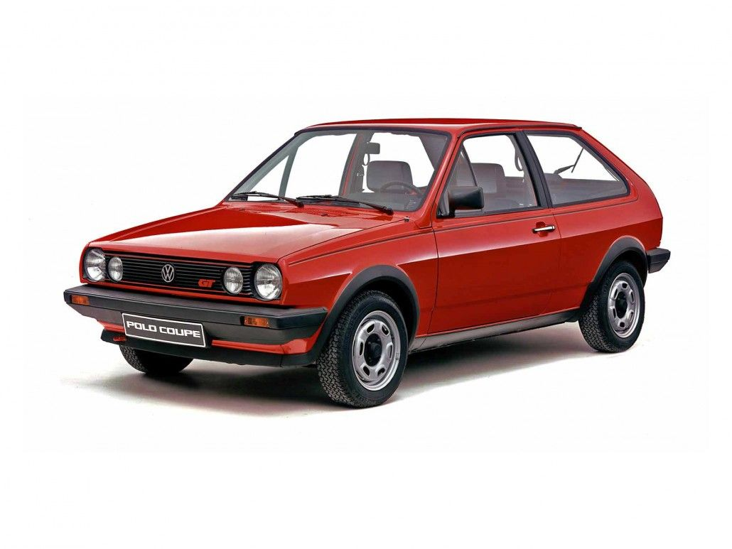 volkswagen polo coup gt 1982 1990 vue av photo. Black Bedroom Furniture Sets. Home Design Ideas