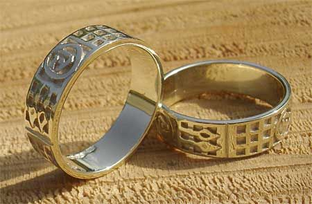Mens Scottish Celtic Rings Gold Art Deco Wedding Ring Now If Only My Hubby