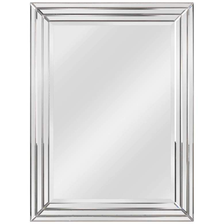 Kenroy Home Exeter 30 X 40 Beveled Wall Mirror 62x68 Lamps Plus Kenroy Home Mirror Wall Gold Mirror Wall
