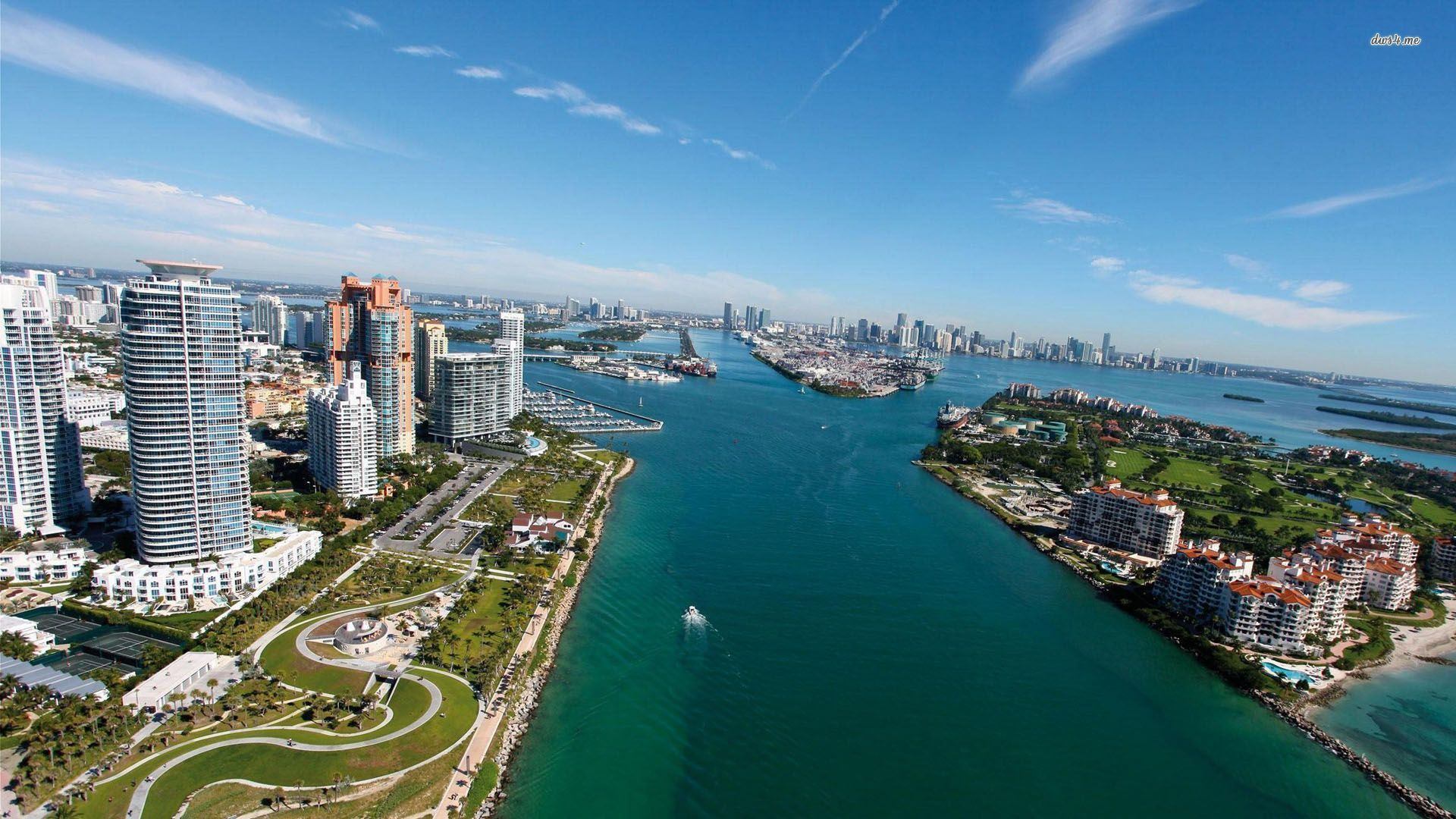 Awesome Downtown Miami Wallpapers In Full HD