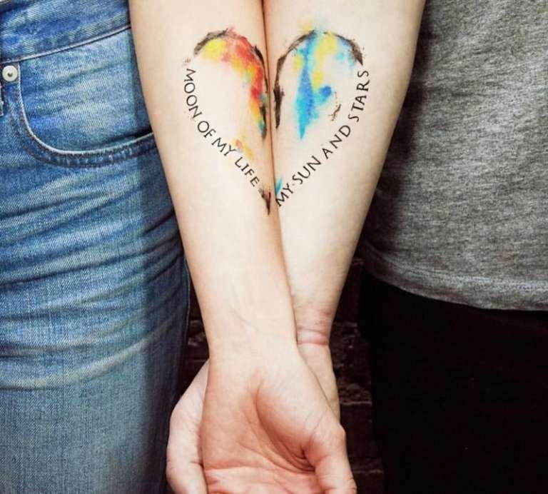 24 Tatuajes de parejas los mejores