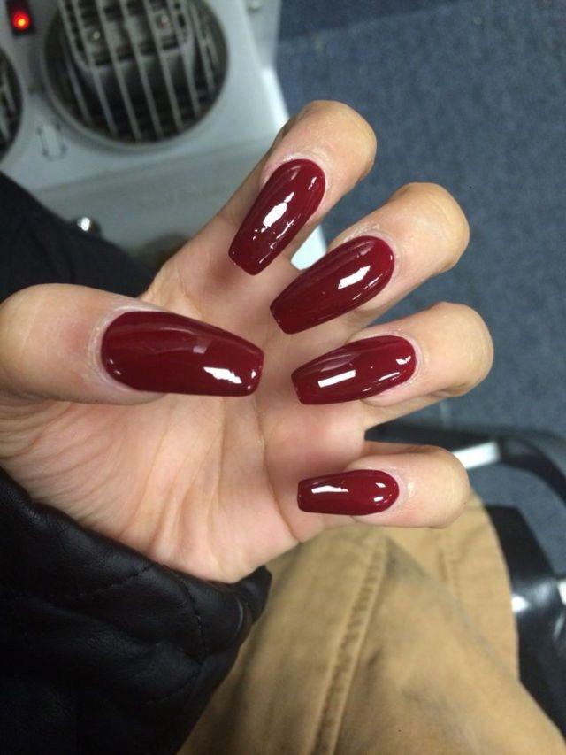 On Pinterest Kitkatlovekesha Pin Beauty Long Red Nails