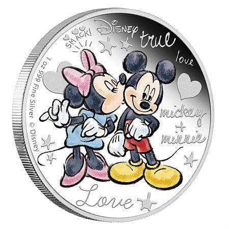 Disney Silver Coin Crazy In Love