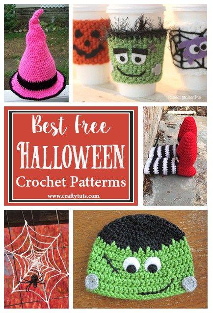 Best Free Halloween Crochet Patterns Halloween crochet, Budgeting - patterns for halloween decorations