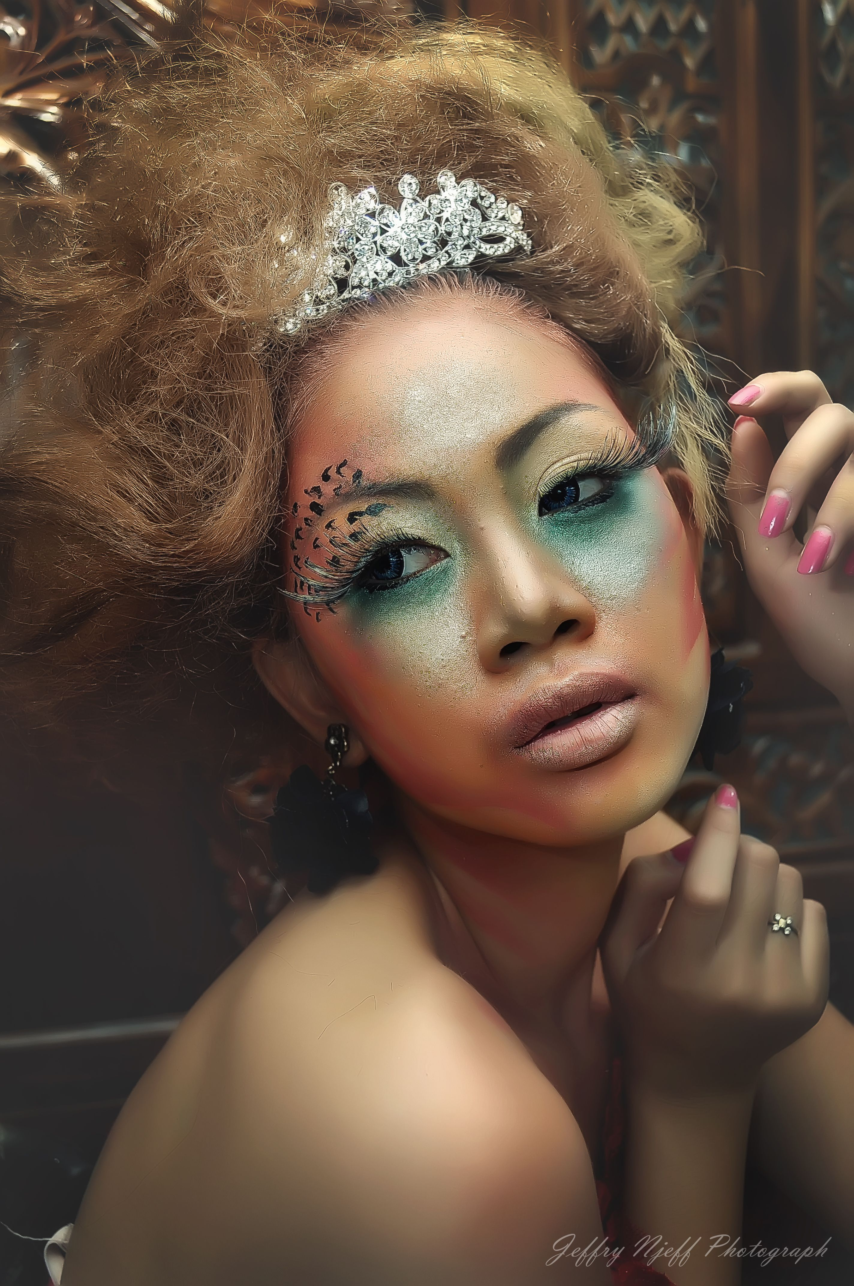 Brenda Metarani  Makeup by Untung Art Photo by Jeffry Junanto (Njeff)