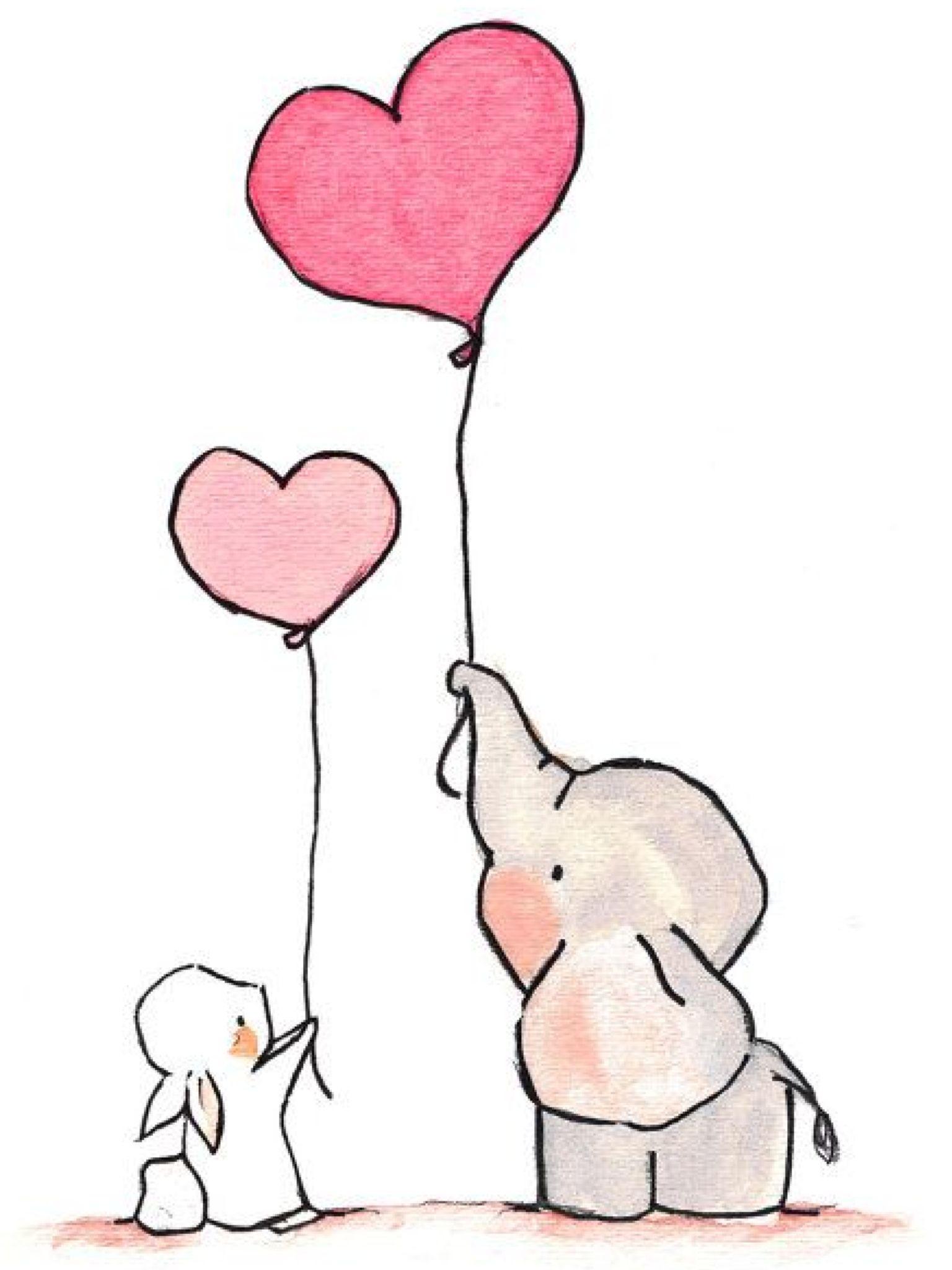 Cute Pic Dibujos De Elefantes Dibujos Animados Sencillos