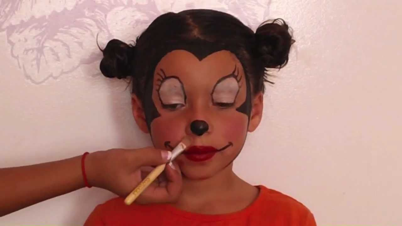 minnie mouse makeup tutorial youtube fasching in 2019 maus kost m kost m und micky maus. Black Bedroom Furniture Sets. Home Design Ideas