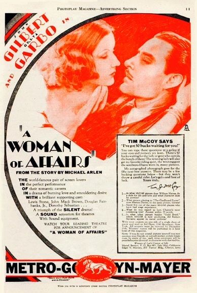 'A Woman of Affairs' (1928) ...