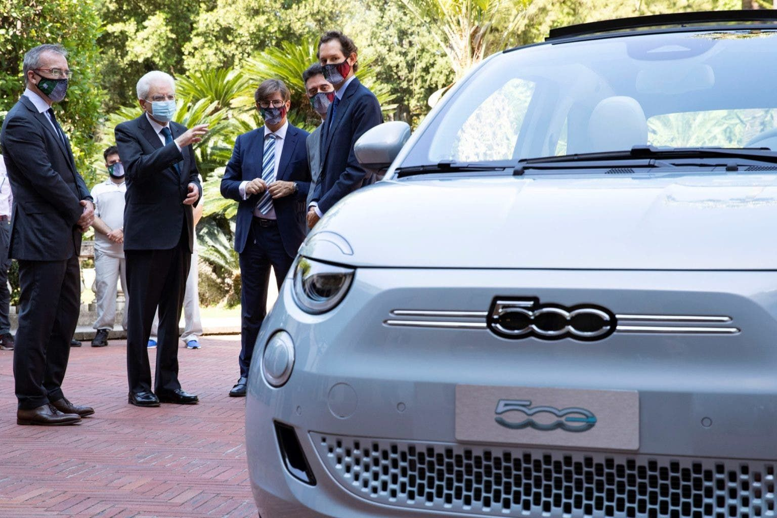 Italy Throws Launch Party For Fiat's 100% Electric