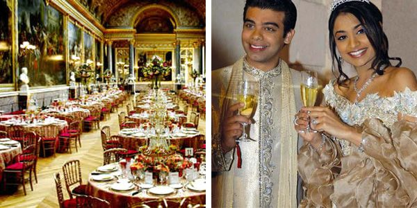 Indian Socialite Vanisha Mittal Daughter Of Steel Magnate Lakshmi Married Investment Banker Amit Bhatia