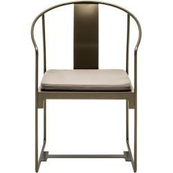 Photo of Driade Mingx outdoor armchair black DriadeDriade