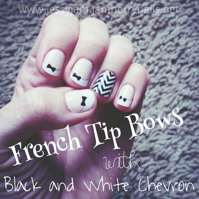 Jamberry French Tips and Chevron! Love em?! Shop online now at http ...