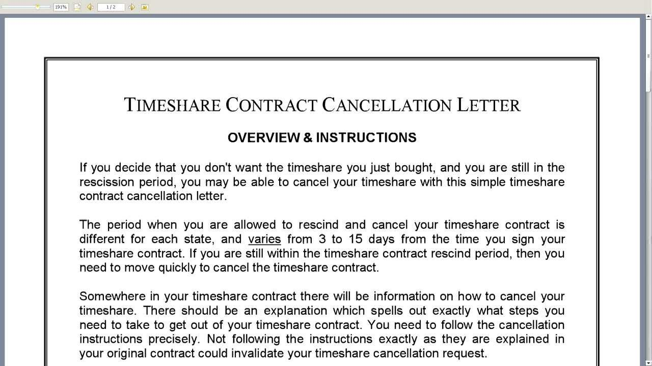 Doc Terminate Contract Letter Template Sample Termination For