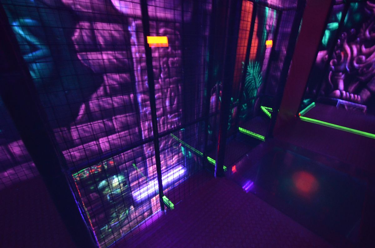 Laser Tag We Design Manufacture And Install Laser Tag Arenas Great Addition To Your Fec Contact Us At Sales Playground Design Laser Tag Indoor Playground
