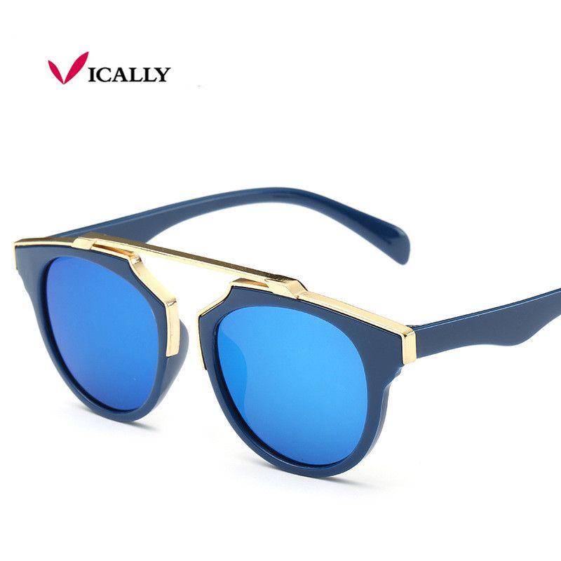 4d5c8a5737 Brand Designer Kids Sunglasses Children Sun Glasses Baby Sun-shading Eyeglasses  UV400 Outdoor Party Boys