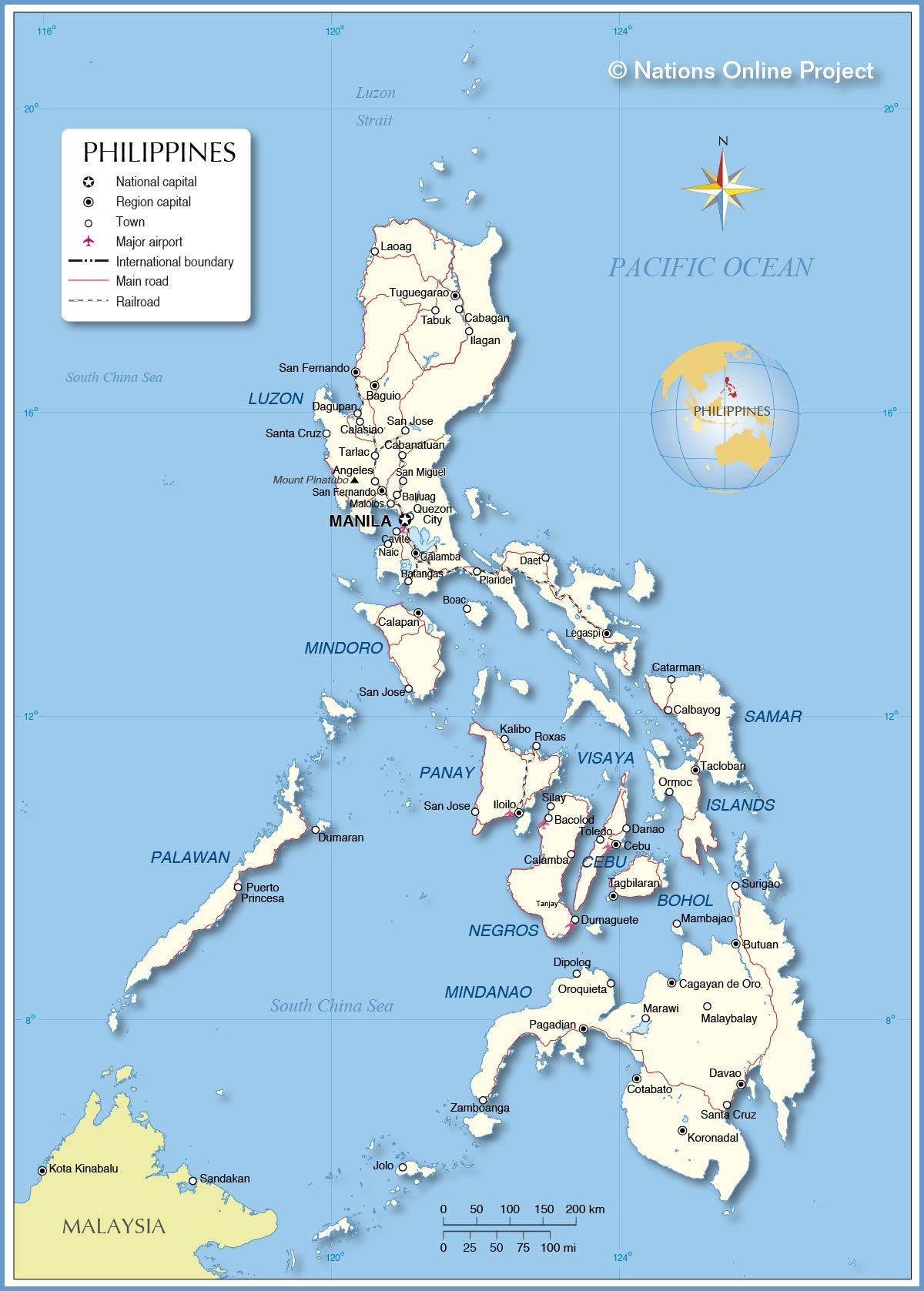 Where Is Philippines On Political Map Philippine Forum At