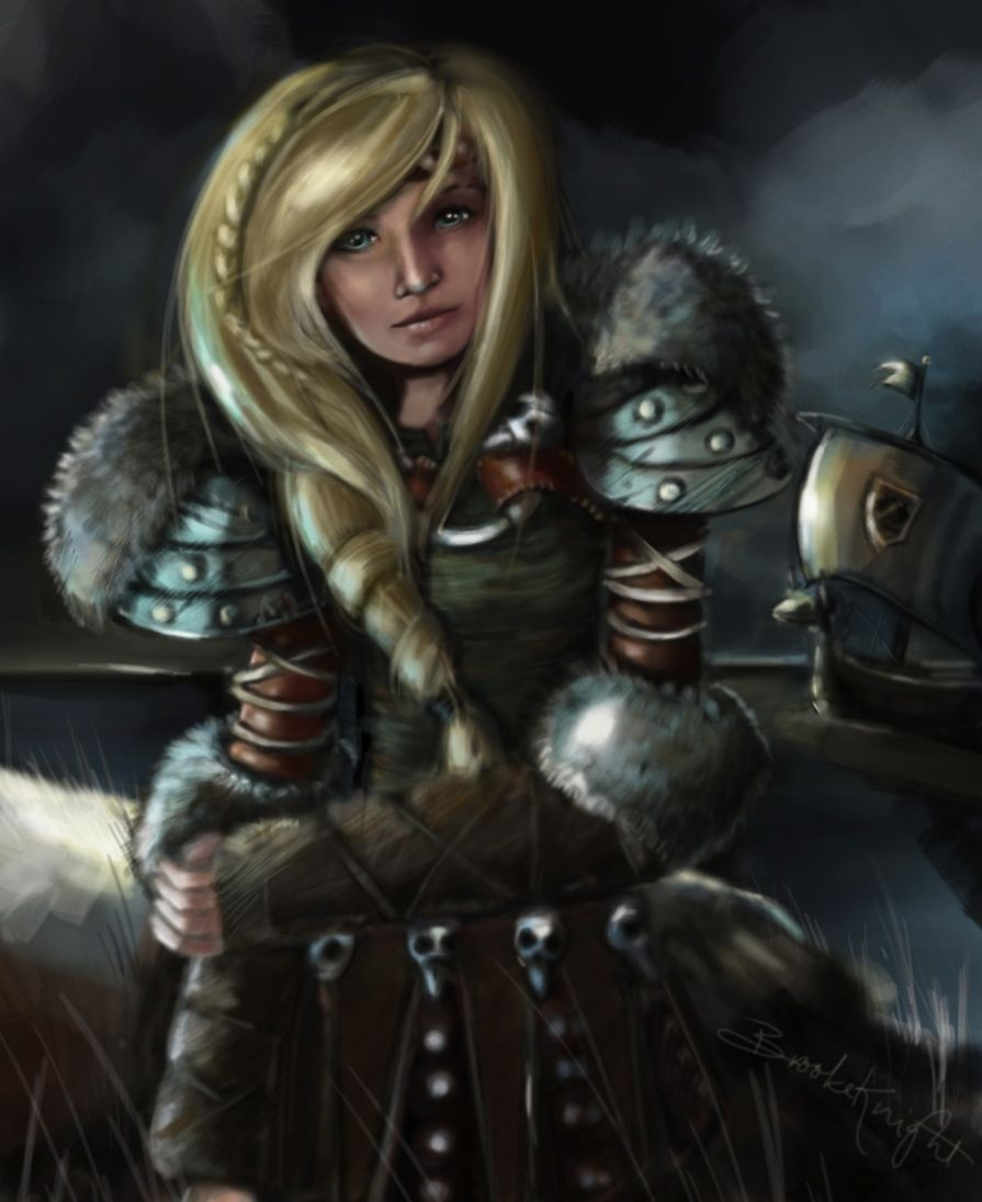 How To Train Your Dragon Astrid Hot  By Dream Works Movie How