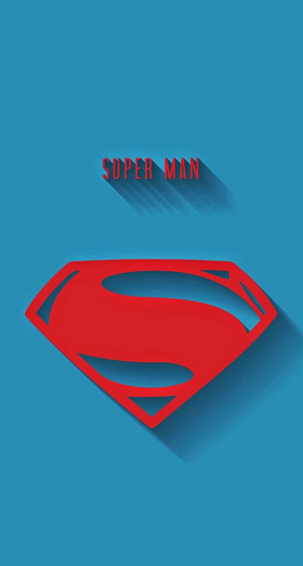 Superman Logo Phone BackgroundsWallpaper BackgroundsIphone